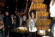 SHAKARA, The Launch of Visionaire 55 Surprise in collaboration with Krug. Raleigh Hotel. Art Basel Miami Beach. 4 December 2008 *** Local Caption *** -DO NOT ARCHIVE -Copyright Photograph by Dafydd Jones. 248 Clapham Rd. London SW9 0PZ. Tel 0207 820 0771. www.dafjones.com