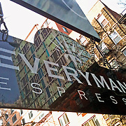 Everyman Espresso sign
