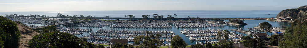 Dana Point Harbor California Panorama