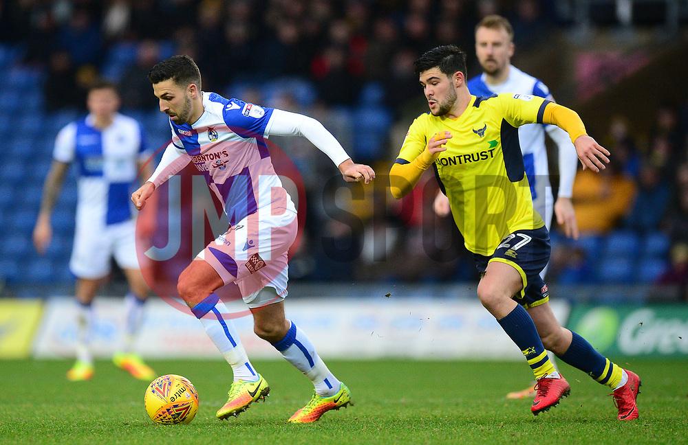Liam Sercombe of Bristol Rovers - Mandatory by-line: Alex James/JMP - 10/02/2018 - FOOTBALL - Kassam Stadium - Oxford, England - Oxford United v Bristol Rovers - Sky Bet League One