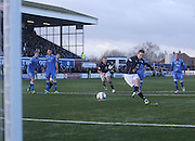 Ryan Conroy scores the winner from the penalty spot - Queen of South v Dundee, SPFL Championship at Palmerston Park <br /> <br /> <br />  - &copy; David Young - www.davidyoungphoto.co.uk - email: davidyoungphoto@gmail.com