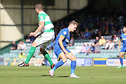 Jake Reeves of AFC Wimbledon during the Sky Bet League 2 match between Yeovil Town and AFC Wimbledon at Huish Park, Yeovil, England on 12 September 2015. Photo by Stuart Butcher.