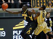 NCAA Basketball - Purdue Boilermakers vs Iowa Hawkeyes - West Lafayette, IN