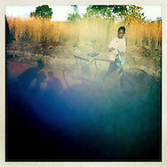 Boy and the shadows, The Mozambique Diary, Maua District, Mozambique