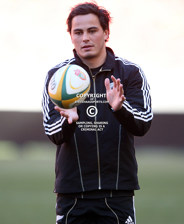 PORT ELIZABETH, SOUTH AFRICA - AUGUST 19, Zachary Guildford during the New Zealand national rugby team Captain's Run at Nelson Mandela Bay Stadium on August 19, 2011 in Port Elizabeth, South Africa<br /> Photo by Steve Haag / Gallo Images