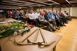 Golden Ice ax at the Alpine Association of Slovenia award ceremony for the most successful in alpinism, sports and ice climbing and turning skiing in 2017, on January 31, 2018 in Gospodarsko raztavisce, Ljubljana, Slovenia. Photo by Urban Urbanc / Sportida