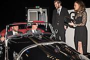 ROBERT BLEKER; ANDREW BUTLER; ANDREW PARKER; EMILY DESPOIS, Preview for The London Motor Show, Battersea Evolution. London. 5 May 2016