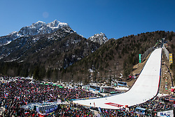 Fans  during Ski Flying Hill Team Competition at Day 3 of FIS Ski Jumping World Cup Final 2019, on March 23, 2019 in Planica, Slovenia. Photo by Peter Podobnik / Sportida