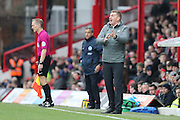 Brentford manager (head coach) Dean Smith  during the EFL Sky Bet Championship match between Brentford and Brighton and Hove Albion at Griffin Park, London, England on 5 February 2017.