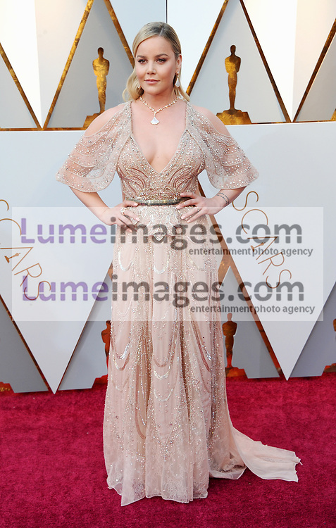 Abbie Cornish at the 90th Annual Academy Awards held at the Dolby Theatre in Hollywood, USA on March 4, 2018.