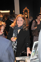 LEONORA, COUNTESS OF LICHFIELD at a party to celebrate the publication of The irish Country House written by The Knight of Glin and James Peill with photographs by James Fennell, held at Christie's, King Street, London on 24th January 2011.