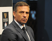 Rugby Union - 2020 Guinness Six Nations Launch Press Conference - Tobacco Dock, London<br /> <br /> Italy coach, Franco Smith <br /> <br /> COLORSPORT/ANDREW COWIE