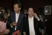 RICHARD E.GRANT, Jules Holland, The John Betjeman Variety Show, sponsored by Shell, in aid of Sane. In the Presnece of the Prince of Wales and the Duchess of Cornwall. Prince of Wales theatre. London. 10 September 2006. ONE TIME USE ONLY - DO NOT ARCHIVE  © Copyright Photograph by Dafydd Jones 66 Stockwell Park Rd. London SW9 0DA Tel 020 7733 0108 www.dafjones.com