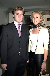 LADY ALEXANDRA SPENCER-CHURCHILL and MR MAT MANNING,  at a party in London on 28th June 2000.OFW 21<br /> © Desmond O'Neill Features:- 020 8971 9600<br />    10 Victoria Mews, London.  SW18 3PY <br /> www.donfeatures.com   photos@donfeatures.com<br /> MINIMUM REPRODUCTION FEE AS AGREED.<br /> PHOTOGRAPH BY DOMINIC O'NEILL