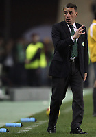 20091106: Paulo Bento resigns as Sporting Lisbon coach, after five seasons leading the Lisboa 'Lions'. ***FILE PHOTO*** 20090321: FARO, ALGARVE, PORTUGAL - Sporting Lisbon vs SL Benfica: Portuguese League Cup 2008/2009 – Final. In picture: sporting coach Paulo Bento. PHOTO: CITYFILES