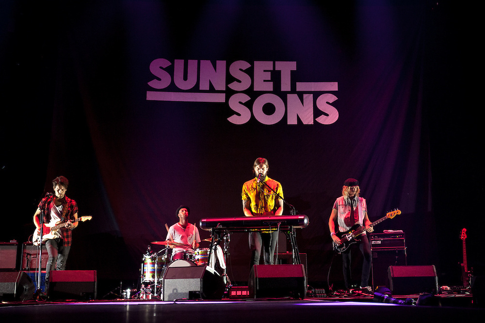 SUNSET SONS | Supporting Act for IMAGINE DRAGONS | Oberhausen | 2015-10-11