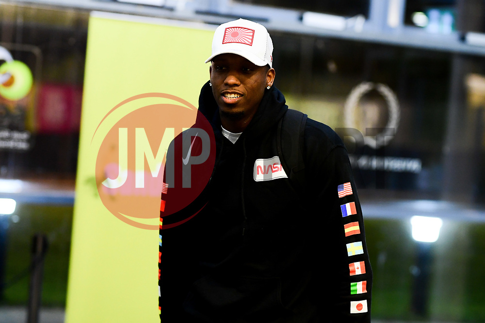 Fred Thomas of Bristol Flyers arrives at SGS Wise Arena prior to kick off - Photo mandatory by-line: Ryan Hiscott/JMP - 14/12/2019 - BASKETBALL - SGS Wise Arena - Bristol, England - Bristol Flyers v Worcester Wolves - British Basketball League Championship