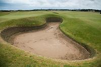 ST. ANDREWS -Schotland-GOLF. bunker op de Old Course . COPYRIGHT KOEN SUYK