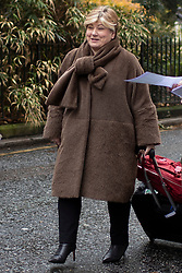 © Licensed to London News Pictures. 16/11/2019. London, UK. Shadow Foreign Secretary Emily Thornberry arrives for a Labour NEC meeting at Savoy Place.  Photo credit: George Cracknell Wright/LNP