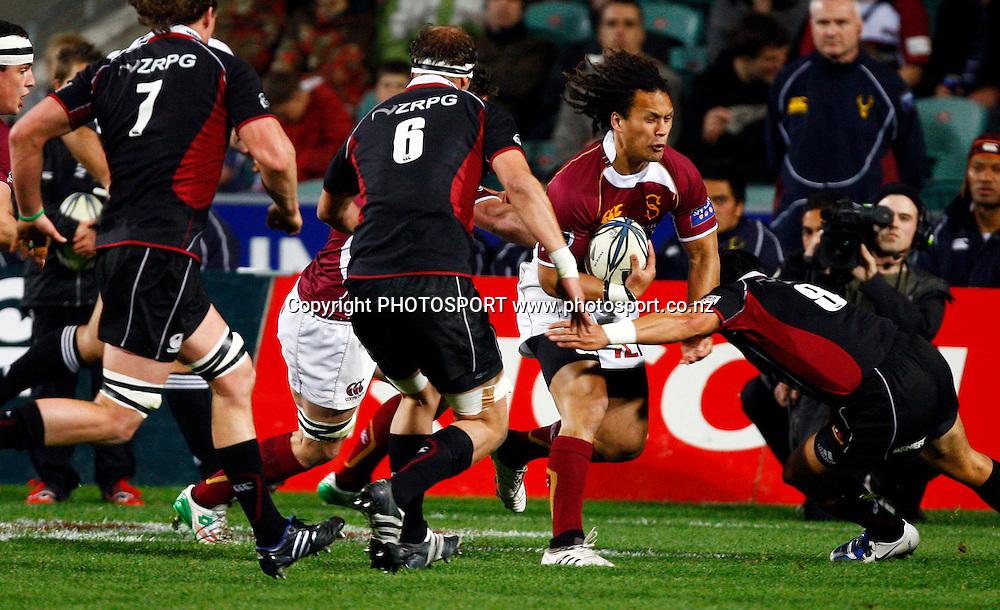Southland winger Pehi Te Whare in action, Air NZ Cup, NPC rugby union. North Harbour v Southland. North Harbour Stadium, Auckland. Thursday 27 August 2009. Photo: William Booth/PHOTOSPORT