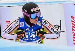 28.12.2017, Hochstein, Lienz, AUT, FIS Weltcup Ski Alpin, Lienz, Slalom, Damen, 2. Lauf, im Bild Christina Geiger (GER) // Christina Geiger of Germany reacts after her 2nd run of ladie's Slalom of FIS ski alpine world cup at the Hochstein in Lienz, Austria on 2017/12/28. EXPA Pictures © 2017, PhotoCredit: EXPA/ Erich Spiess