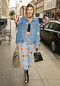 Exclusive - Olivia Buckland out in London