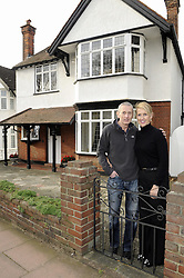 "© Licensed to London News Pictures. 07/01/2012.Bromley couple Graham King and Pamela Rutter have decided to give away their house in a Prize Property Competition. Frustrated after months of being unable to sell the family home because of the current economic climate,  Graham and Partner Pamela from Cromwell Avenue in Bromley have set up a website (www.prizeproperty.co.uk) so that people can view the property and purchase tickets for the competition at £30.00 each, people will have to answer three questions about Bromley to enter. The competition which is due to start this week will run until June 29 2012..Mr King needs to sell 25.000 tickets for the prize draw to go ahead. If fewer than 23,400 tickets are sold a cash prize will be given to the winner instead. Mr King a Business Consultant said ""The biggest challenge will be to sell enough tickets""..Weather Photo credit : Grant Falvey/LNP"