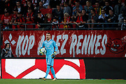 Anthony LOPES (Olympique Lyonnais) during the French championship L1 football match between Rennes v Lyon, on August 11, 2017 at Roazhon Park stadium in Rennes, France - Photo Stephane Allaman / ProSportsImages / DPPI