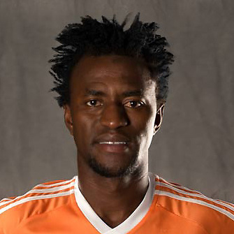 Feb 25, 2016; USA; Houston Dynamo player Abdoulie Mansally poses for a photo. Mandatory Credit: USA TODAY Sports