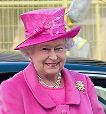 MAR 21 2014 The Queen and Duke of Edinburgh at Rambert