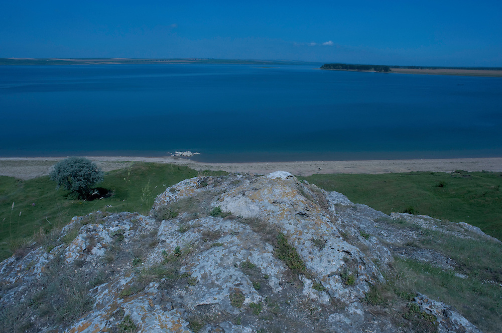 Lake of Costesti, North West of Moldova