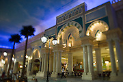 Ibn Battuta shopping mall, named after the famous Arabic traveller. Tunisia Court.