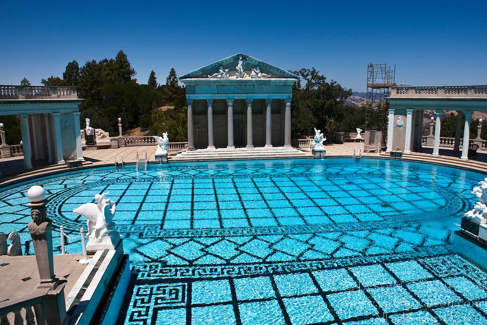 Neptune pool, Hearst Castle, California, United States of America