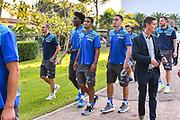 Team Banco di Sardegna Dinamo Sassari<br /> Presentazione Banco di Sardegna Dinamo Sassari alle Autorità e Sponsor<br /> Alghero, Tenute Sella e Mosca, 05/09/2018<br /> Foto L.Canu / Ciamillo-Castoria