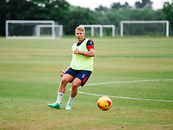George Dowling in action as Bristol City Under 23s return for a second day of training ahead of their 2017/18 Season - Rogan/JMP - 01/07/2017 - Failand Training Ground - Bristol, England.