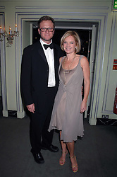 MARIELLA FROSTRUP and her husband JASON McCUE attending the 27th Awards of the London Film Critics' Circle 2007 in aid of the NSPCC held at The Dorchester, Park Lane, London on 8th February 2007.<br />