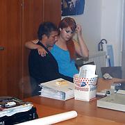 Premiere Stille Nacht, Victoria Koblenko en vriend Evgeny Levchenko