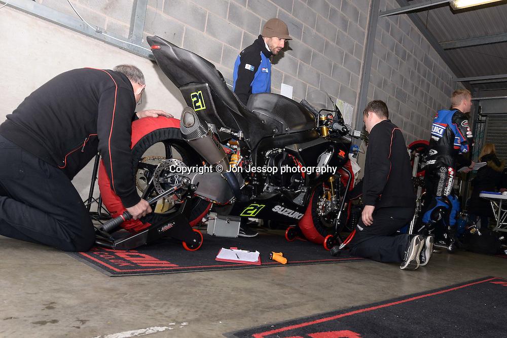 #21 Josh Waters Halsall Suzuki MCE British Superbikes