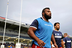 Jamal Ford-Robinson of Bristol Rugby - Photo mandatory by-line: Patrick Khachfe/JMP - Mobile: 07966 386802 27/05/2015 - SPORT - RUGBY UNION - Worcester - Sixways Stadium - Worcester Warriors v Bristol Rugby - Greene King IPA Championship Play-off Final (Second leg)