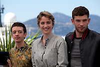 Actors Nahuel Perez Biscayart, Adele Haenel and Arnaud Valois at the 120 Beats per Minute (120 Battements Par Minute)  film photo call at the 70th Cannes Film Festival Saturday 20th May 2017, Cannes, France. Photo credit: Doreen Kennedy