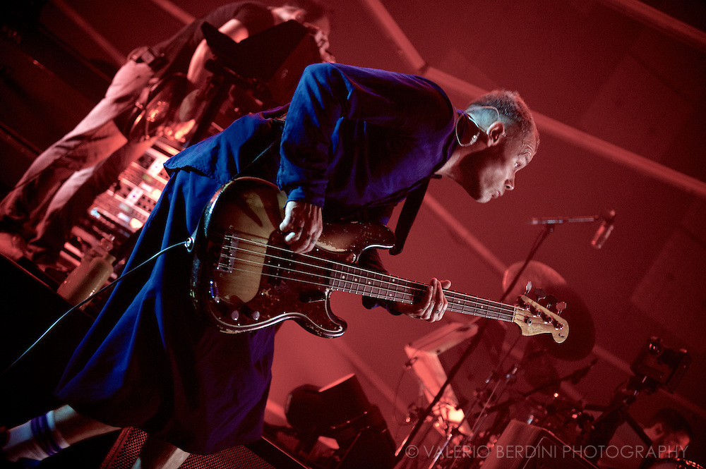 Atoms For Peace, Thom Yorke and Flea side project, play live in London at the Roundhouse on 25 July 2013