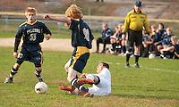 Boys varsity soccer Hopkinton versus Bow October 18, 2010.