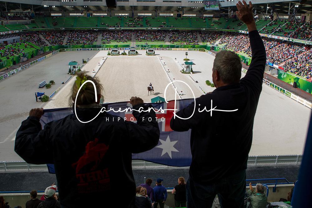 Mary Hanna, (AUS), Sancette - Grand Prix Team Competition Dressage - Alltech FEI World Equestrian Games™ 2014 - Normandy, France.<br /> © Hippo Foto Team - Leanjo de Koster<br /> 25/06/14
