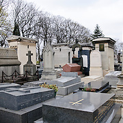 Cimetière du Montparnasse. Includes the graves of a great number of France's artists and writers, including Simone de Beauvoir, Samuel Becket, and Charles Baudelaire