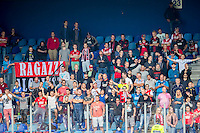 ZWOLLE - 18-09-2016, PEC Zwolle - AZ, MAC3park Stadion, 0-2, supporters AZ