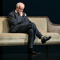 Wasted by Harley Granvelle Barker;<br /> Directed by Roger Michell;<br /> Gerrard McArthur as Lord Charles Cantilupe;<br /> Lyttelton Theatre, National Theatre, London, UK;<br /> 9 November 2015