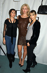 Left to right, SADIE FROST, actress MARGO STILLEY and JEMIMA FRENCH at Reach 4 Fashion 2005 in aid of the REACH Leukaemia Appeal hosted by designers Sadie Frost and Jemima French of fashion label FrostFrench held at 88 St.James' Street, London SW1 on 8th November 2005.<br /><br />NON EXCLUSIVE - WORLD RIGHTS