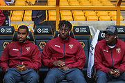 The Torino players have arrived before the Europa League play off leg 2 of 2 match between Wolverhampton Wanderers and Torino at Molineux, Wolverhampton, England on 29 August 2019.