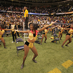 2008 November, 29: The Grambling State dancers perform on the sideline near the end of Grambling State's 29-14 win over Southern University during the 35th annual State Farm Bayou Classic at the Louisiana Superdome in New Orleans, LA.  .