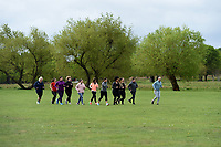 Celebrate You Training Session with Tim Weeks in Richmond Park, Surrey - preparing runners for The Vitality London 10,000, which will take place on Monday 27th May 2019. Friday 26 April 2019<br /> <br /> Photo: Kate Green for Vitality London 10,000<br /> <br /> For further information: media@londonmarathonevents.co.uk